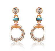 European And American Fashion Lvkong New Earrings