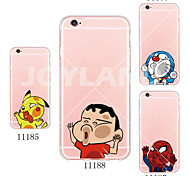 MAYCARI®Spider Face Soft Transparent TPU Back Case for iPhone 5/5S(Assorted Colors)