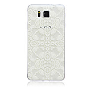 Lace Flowers Pattern TPU Material Phone Case for Samsung Galaxy G360/G530/G355H/G850F