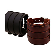 Punk Triple-Layer Super Wide Leather Belt Bracelets 1pc