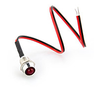 20Pcs Led Indicator Light Bulb Pilot Dash Directiona Car Boat Red 12V