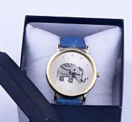 Cartoon Elephants Women Unique Fashion Top Brand Geneva Quartz Watches Best Gift Wristwatches Smart