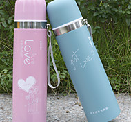 12 Hours Of High-Grade Stainless Steel Vacuum Thermos Cup Children High-Grade Tea Cup Lovers Gift NEW 350ML