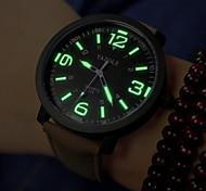Мужской Армейские часы Наручные часы Кварцевый PU Группа Черный Коричневый