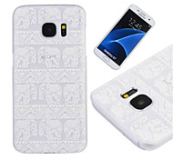 Elephant Pattern PC Material Phone Case for Samsung Galaxy S4/S5/S6/S4Mini/S5Mini/S6edge/S7/S7edge