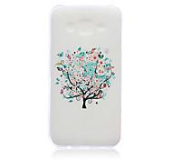 Tree Pattern TPU Material Phone Case for Samsung Galaxy J1/J1 Ace/J2/J3/J5/J7