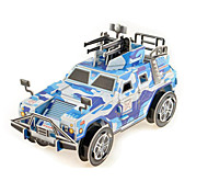 SUV Vehicle 3D Puzzles Paper DIY Toys Modeling Toys
