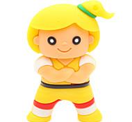 ZPK20 8GB Cartoon Little Girl USB 2.0 Flash Memory Drive U Stick