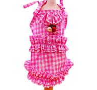 Dog Dress Red / Pink Summer Fashion