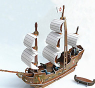 Black Pearl Pirate Boat 3D Puzzles (8 pcs)