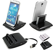 Cwxuan® 3 in 1 Desktop Data Sync Charge OTG Station USB Cradle Charger for Samsung Galaxy S4 i9500
