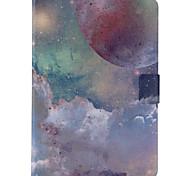 patroon pu lederen beschermhoes tablet stand case case voor Samsung Galaxy Tab een 9,7 T550 T555