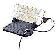 carga de adsorción magnética base para cargar teléfonos inteligentes del soporte del coche