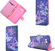 Star Butterfly Diamond Painted PU Phone Case for Galaxy Grand Prime G530