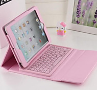 2016 Newest Solid Color Smart PU Leather Case with Bluetooth Keyboard  for Ipad Mini 4