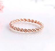 hualuo®twist Ring weibliche Schwanz Ring Rotgold Ring promis Ringe für Paare