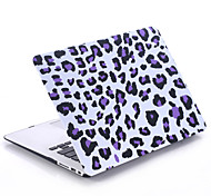 "Light Leopard Print Style PC Materials Water Stick Flat Shell For MacBook Pro 13 ""/Pro 15 """