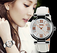 SKMEI® Lady's Leather Band Japanese Quartz 30M Water Resistant Fashion Watch