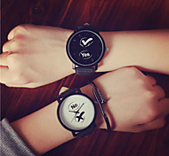 2016 Fashion YES/NO Couple's Wrist Watch Watches Men Fruit Woman Watch Simple Students Watch(Assorted Color) Cool Watches Unique Watches
