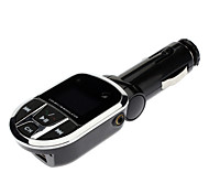 3 in 1 Car MP3 Player/ Adapter/ Wireless FM Transmitter with USB Jack SD Slot