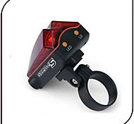 Bike Lights / Rear Bike Light LED / Laser - Cycling Waterproof AAA 80 Lumens Battery Cycling/Bike-XIE SHENG