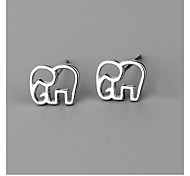 Ladies Fashion Animal Elephant Tremella 925 Nails