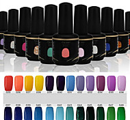 Newest Popular Top Fashion  Soak-off UV & LED Gel Polish (15ml,25-48 Colors)