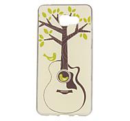 Guitar Trees Pattern TPU Soft Case Phone Case for Samsung Galaxy A3/A5/A7/A3 10/A510/A710
