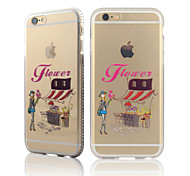 City Girls Series One Diamond Frame Tpu With Back Case For Iphone6/6s