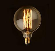 1 pezzo YouOKLight E26/E27 40W 1 COB 400 LM Bianco caldo B edison Vintage Lampadine globo LED AC 220-240 / AC 110-130 V