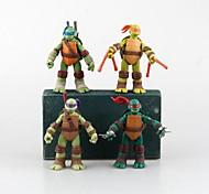 Mutant Ninja Turtles Nostalgia Edition Cartoon Figure 1 Set Anime Action Figures Doll Toys Model