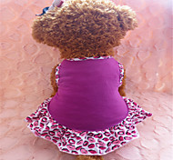 Dog Dress Purple Summer Lips Fashion