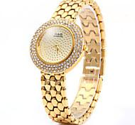 GND diamant femmes quartz avec bracelet en acier inoxydable