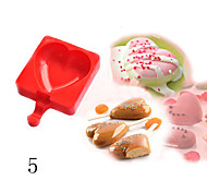 DIY Silicone Ice Cream Mold Ice Pop Popsicle Molds Chocolate Cake Baking Mold