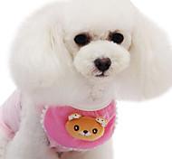 Dog Muzzles Adjustable/Retractable Green / Yellow Textile