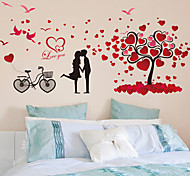 Decorative Sticker Bedroom Romantic Couple Wall Stickers