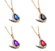 Color Diamond Ms 18K Gold Necklaces