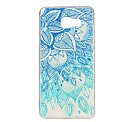Green Blue Pattern TPU Soft Case Phone Case for Samsung Galaxy A3/A5/A7/A3 10/A510/A710