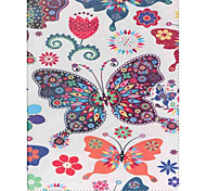 Butterfly Folio Leather Stand Cover Case With Stand for iPad 4/3/2