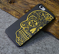 Black Wood iphone Case Human Skeleton Terror Religion Hard Back Cover for iPhone 5s/iphone 5