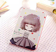 Little Girl Series Six PU Leather Full Body Case With Stand for iPad Mini 3/2/1