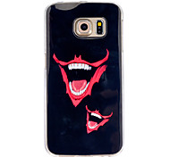 Tooth Pattern TPU Soft Case for Galaxy S5/Galaxy S6/Galaxy S6 edge