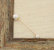 femmes de la mode plaqué or à la mode amovible Broche perle (pack avec un sac-cadeau)