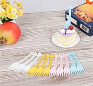 Plastique Fourchette à dessert Fourchettes à dessert