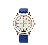 Women's  Fashion  Simplicity  Creative Quartz Rhinestone Leather Lady Watch