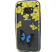 Transparent Painting Design Back Cover+Black Bumper Cover Case for Samsung Galaxy S7 (Assorted Color)