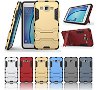 For Samsung Galaxy Case with Stand Case Back Cover Case Armor PC Samsung On 7 / On 5