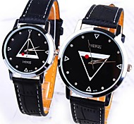 Creative fashion black and white, men and women lovers to watch waterproof students leisure fashion watches Cool Watches Unique Watches