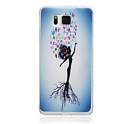 Trees Person Pattern TPU Material Phone Case for Samsung Galaxy G360/G530/G355H/G850F