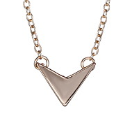 Japan And South Korea Personality Geometric Shape Fashion Simple Necklace